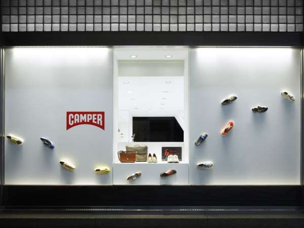 Shoe-Branded Store Fronts