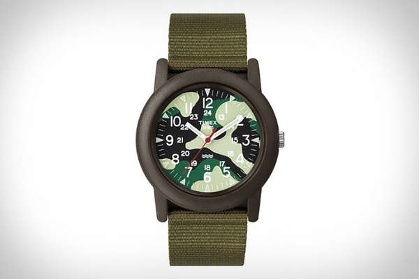 Durable Camouflaged Watches