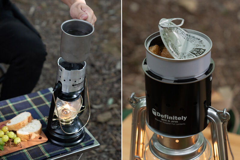 Lantern-Powered Campsite Cookers