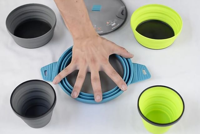 Collapsable Camping Cookware