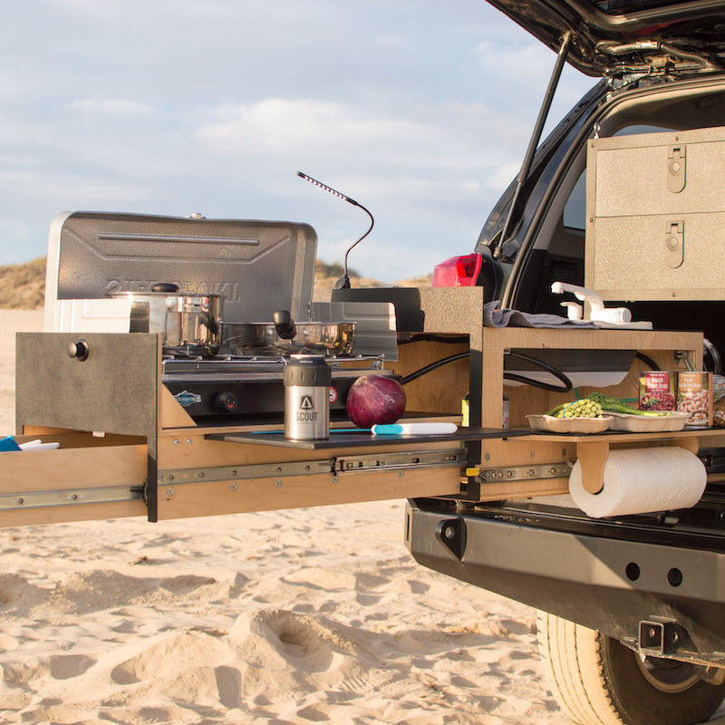 Vehicle Trunk Kitchen Equipment : camping kitchen