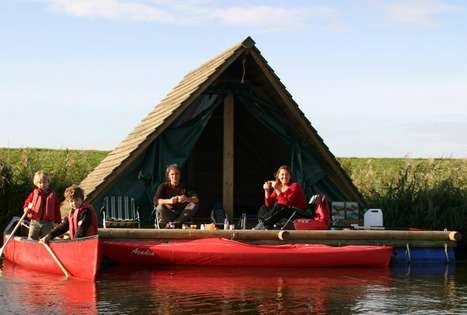 Camping Rafts Floating Cabins