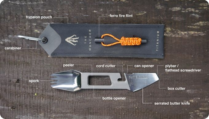 Multi-Use Camping Utensils