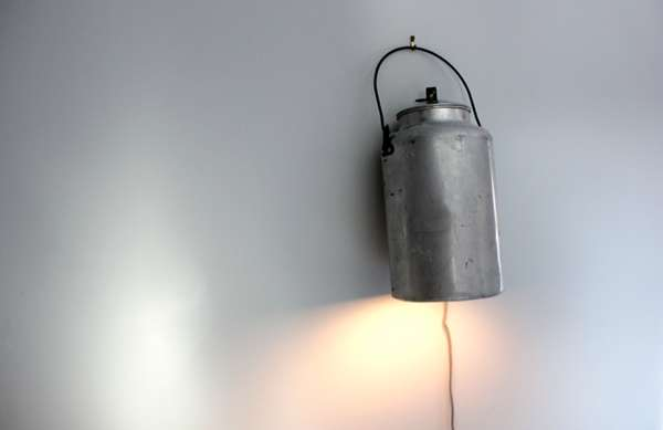 Repurposed Kettle Reading Lamps