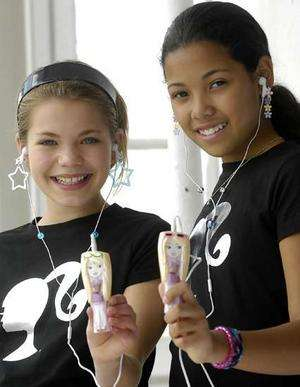 Barbie Becomes an MP3 Player + Matel Launched BarbieGirls.com