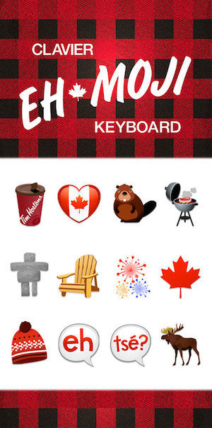 Canadian Emoji Keyboards