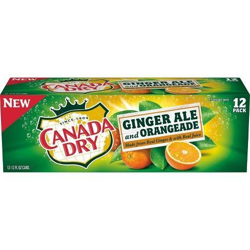 Gingery Orange-Infused Sodas