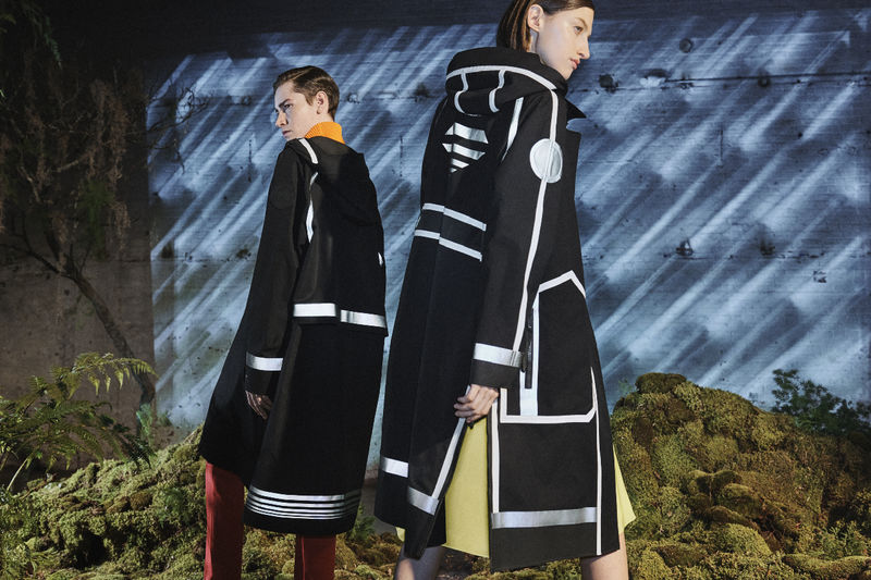 Collaborative Artistic Outerwear