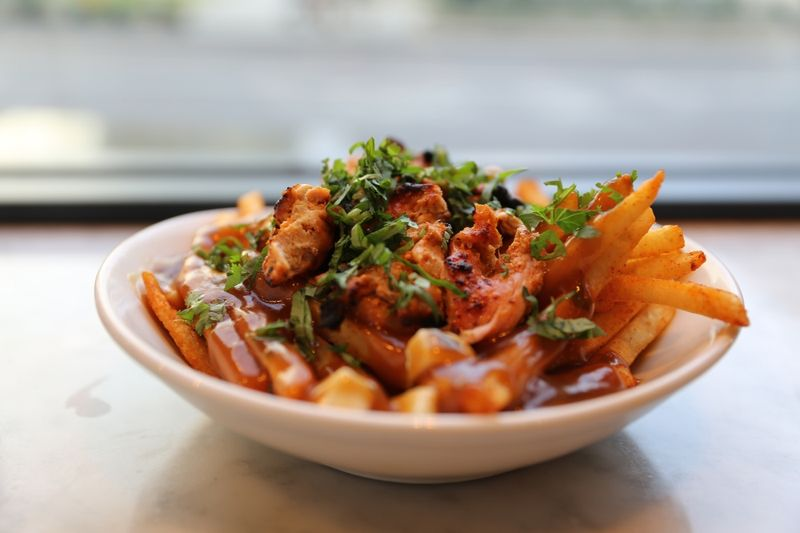 Indian-inspired Poutines