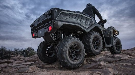 Brutishly Powerful ATVs