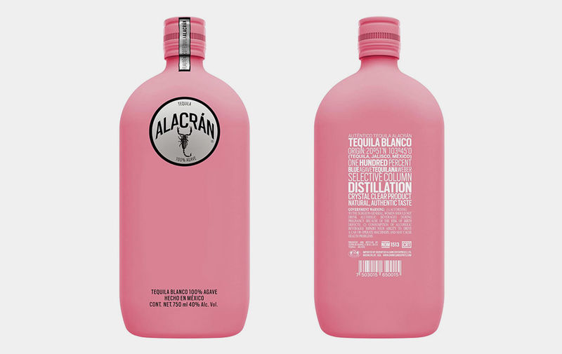 Cancer Awarness Tequila Bottles