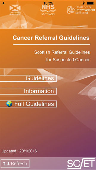 Cancer Referral Apps