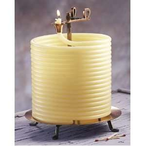 Coiled Beeswax Candles