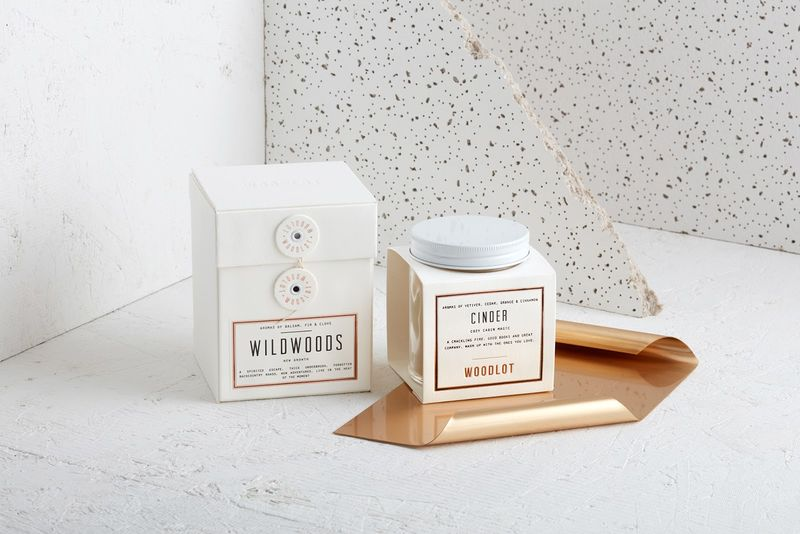 Gift-Inspired Candle Packaging