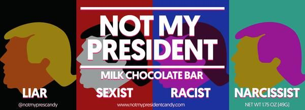Anti-Trump Chocolate Bars