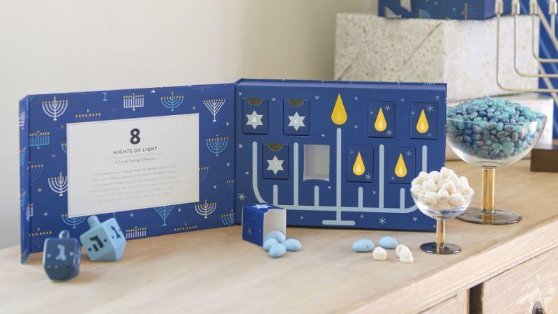 Hanukkah Candy Boxes