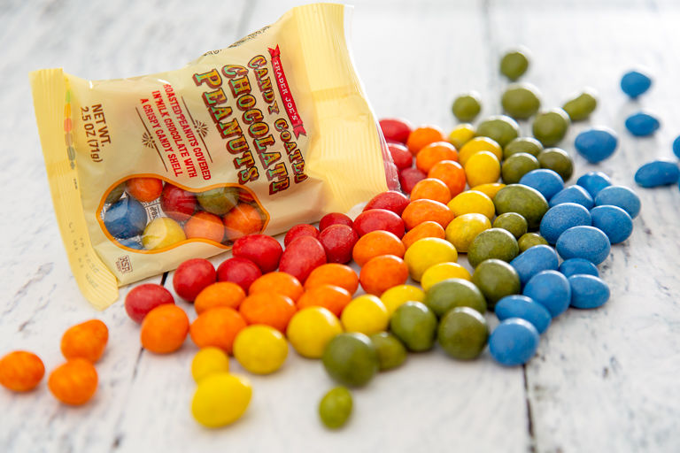 Colorful Vegetable-Dyed Candies