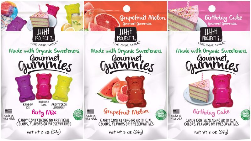 Flavor-Focused Candy Branding