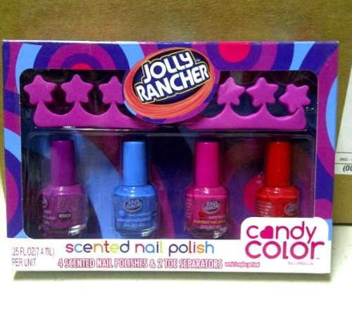 Sweet-Smelling Nail Colors