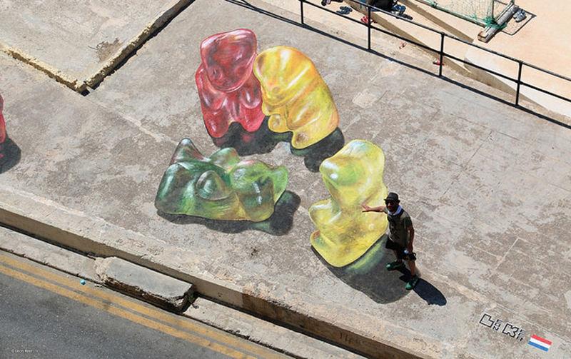 Candy Street Art