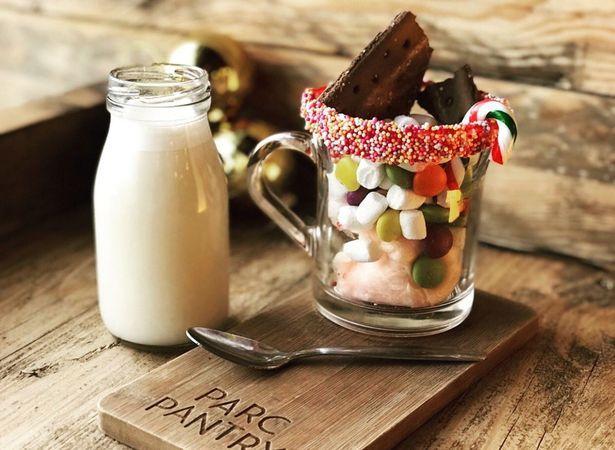 Elf-Inspired Breakfast Beverages