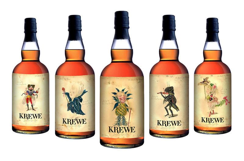 Whimsical Rhum Branding