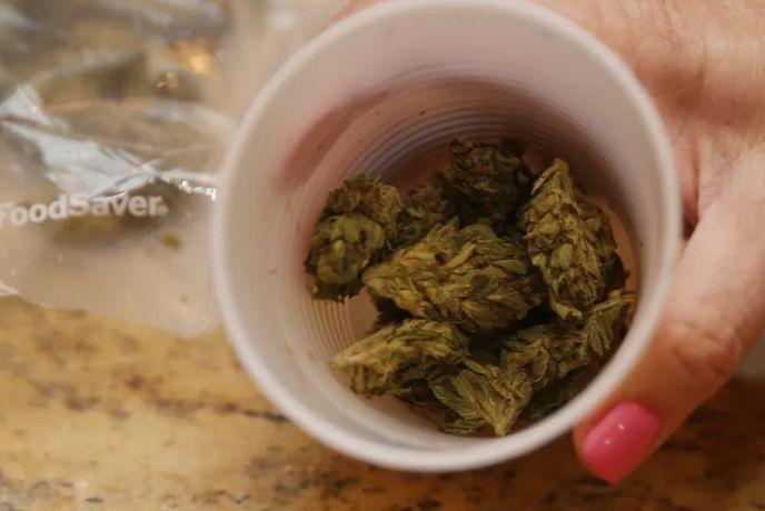 Caffeinated Cannabis Capsules