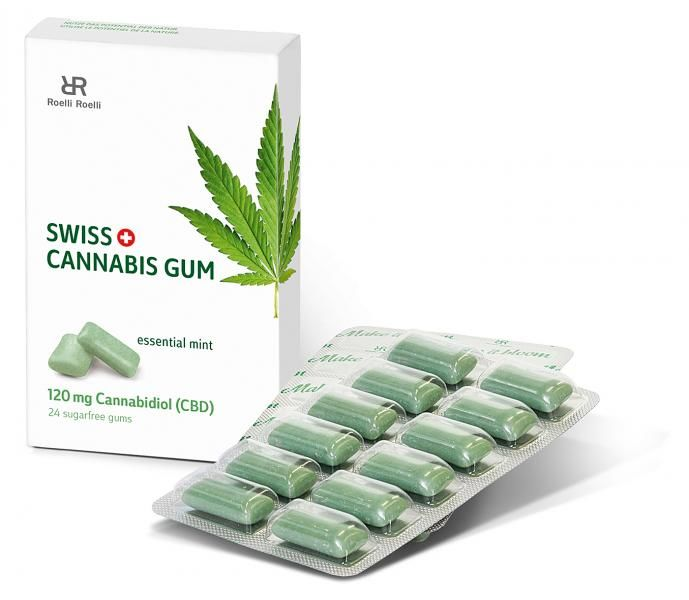 Cooling CBD Chewing Gums
