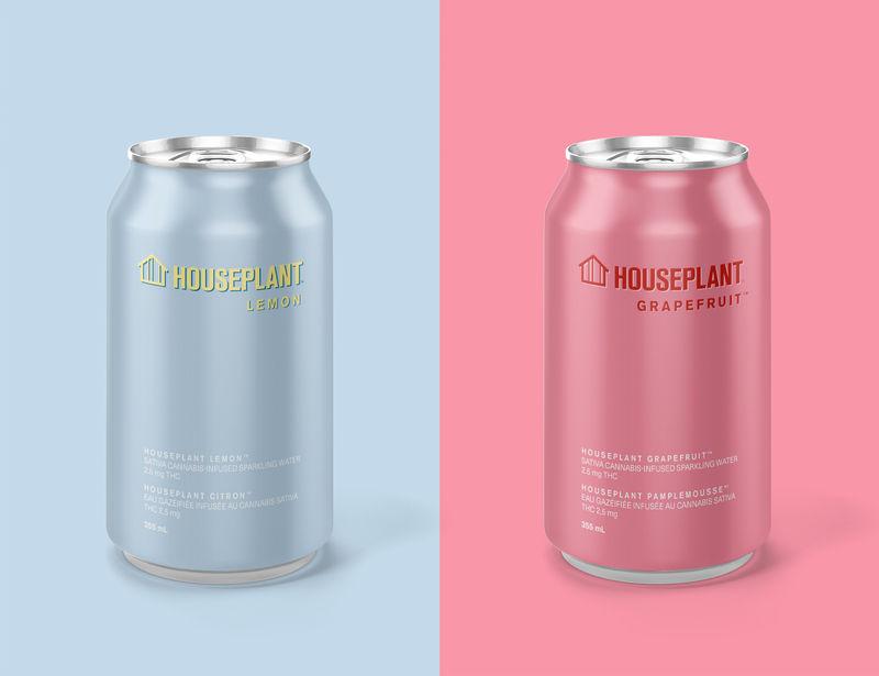 THC-Enhanced Sparkling Water