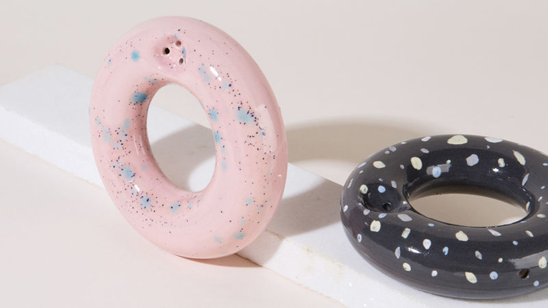Donut-Shaped Smoking Pipes