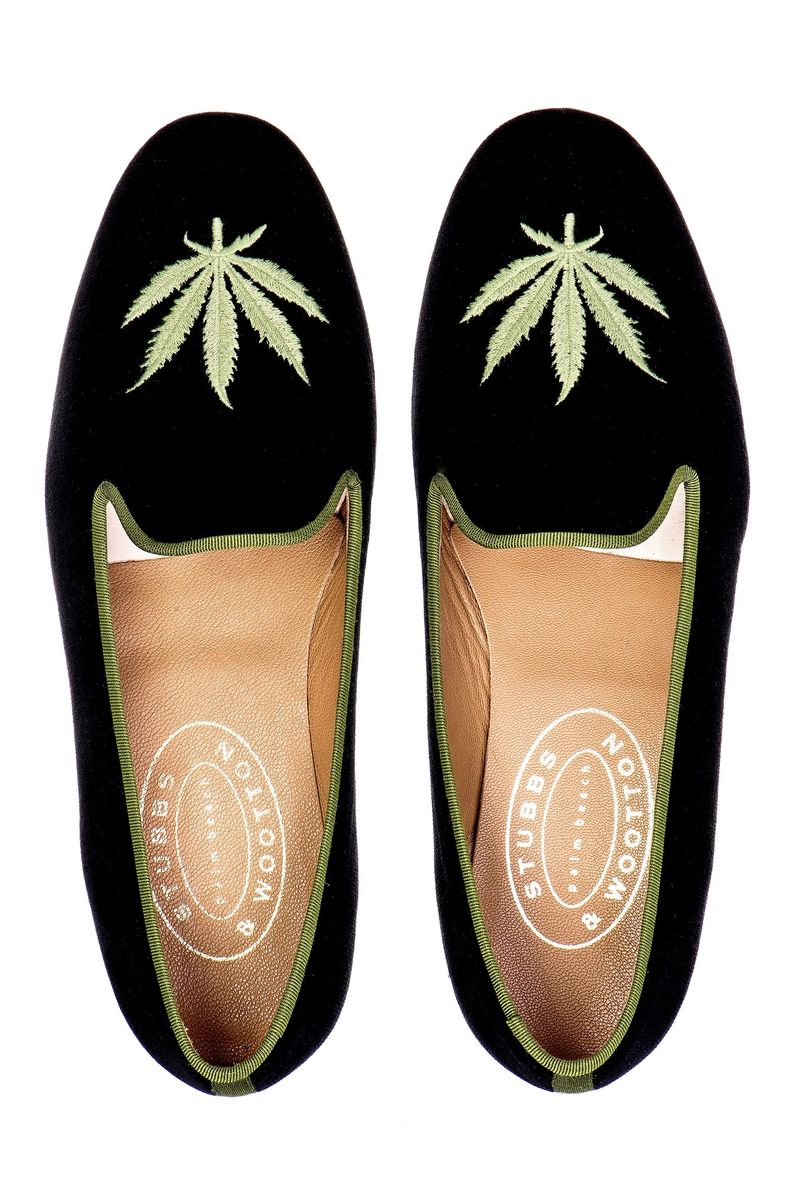 Couture Cannabis Loafers