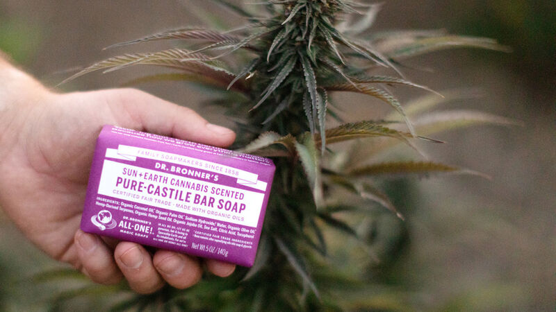 Limited-Edition Cannabis Soaps