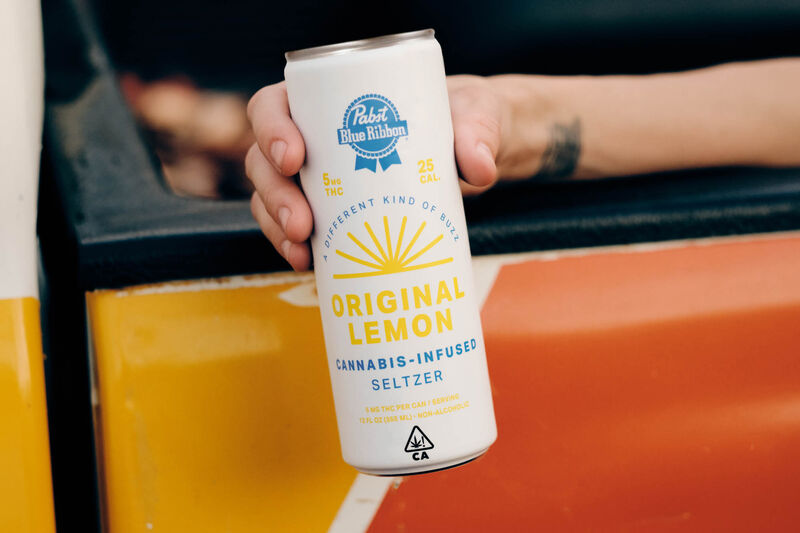 Non-Alcoholic Cannabis-Infused Seltzers