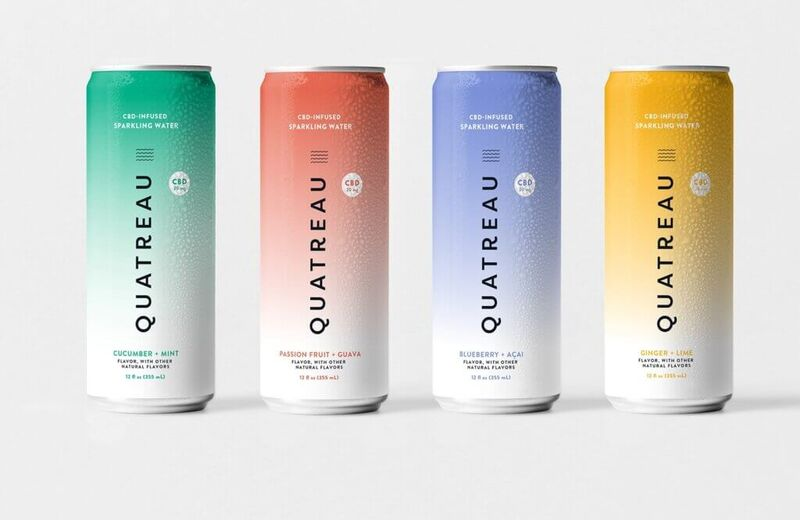 Cannabis-Infused Sparkling Water