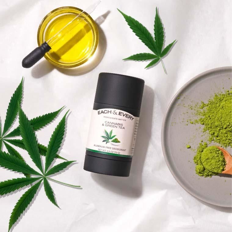 Natural Cannabis-Scented Deodorants