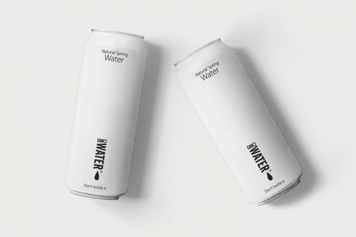 Waste-Reducing Canned Water