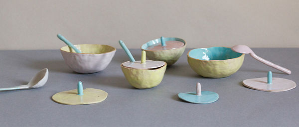 Fruit-Inspired Ceramic Bowls