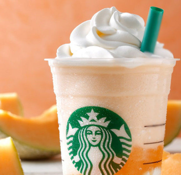Cantaloupe-Flavored Frappuccinos