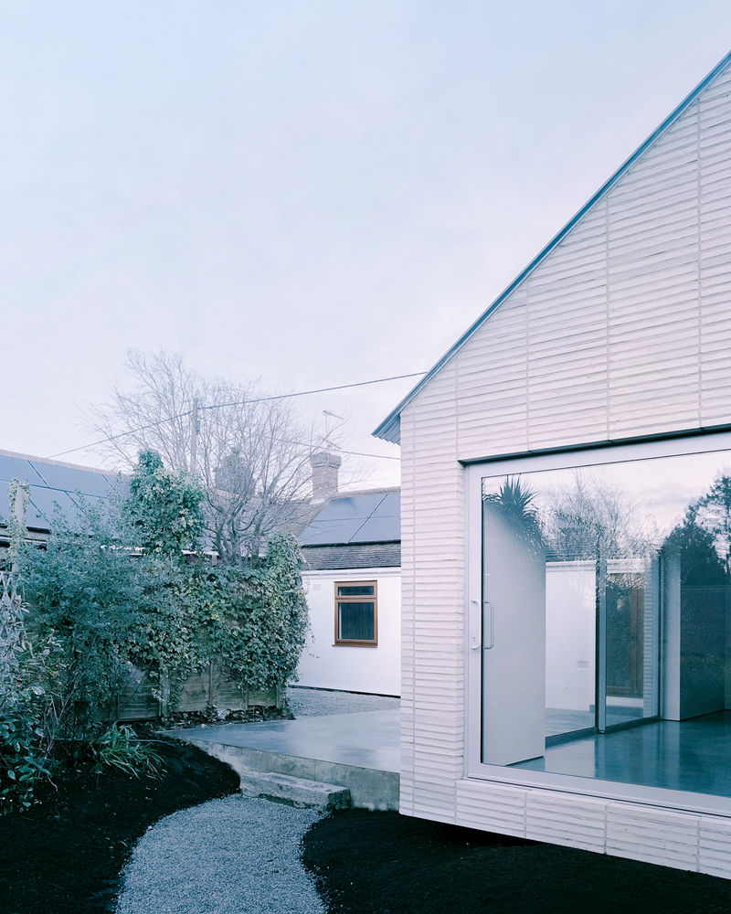 Minimalist Cantilevered Houses