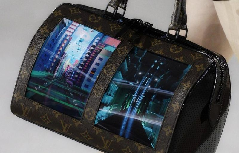 Screen-Integrated Handbags
