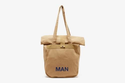 Rolled Canvas Tote Bags