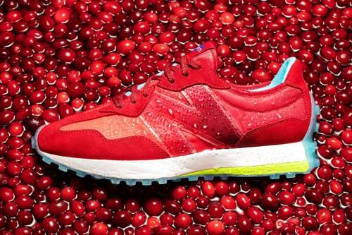 Cranberry Cocktail-Inspired Sneakers
