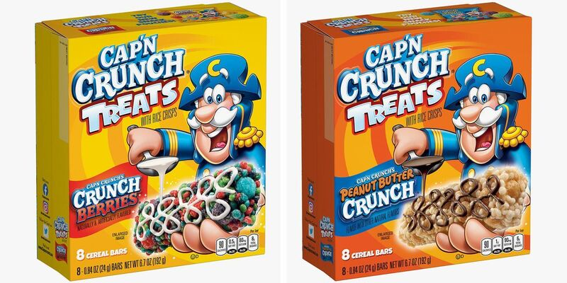 Sweet Cereal Bar Flavors