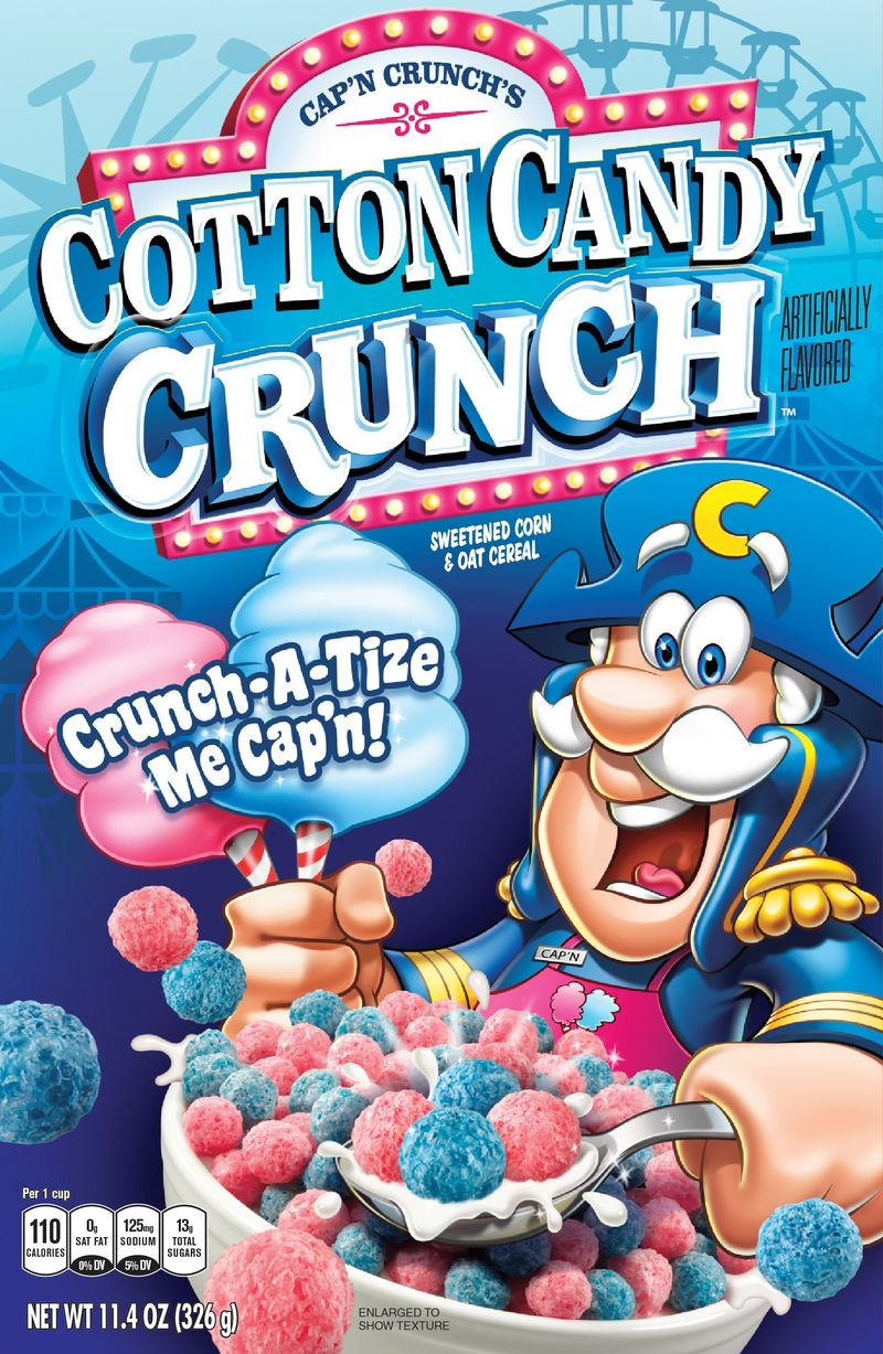 Cotton Floss-Flavored Cereals