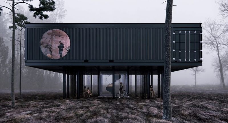 Off-Grid Shipping Container Offices
