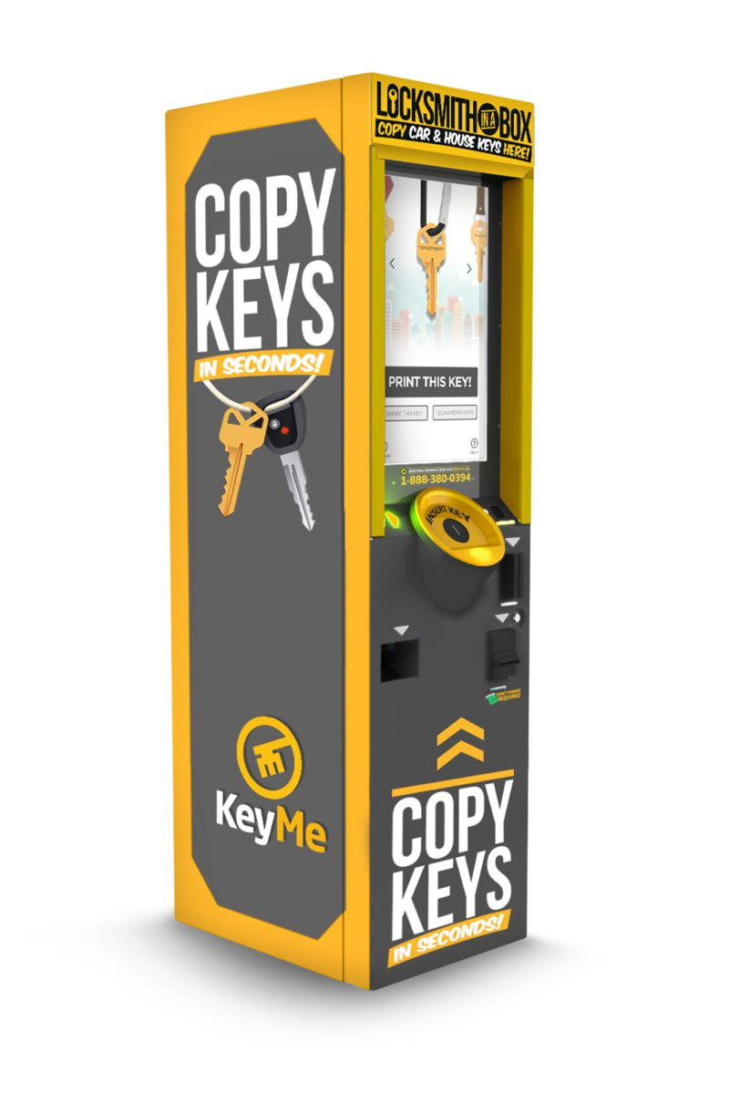 Key Fob-Copying Kiosks : car key fob