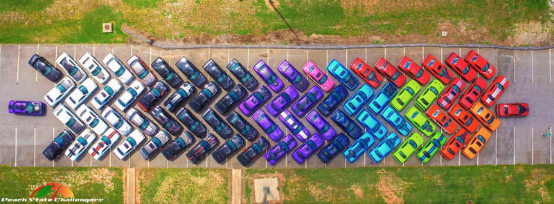 Rainbow Car Conventions