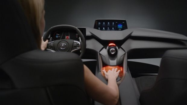 Car Console Touchpad Interfaces