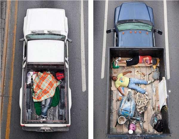 Mexican Commuter Portraits
