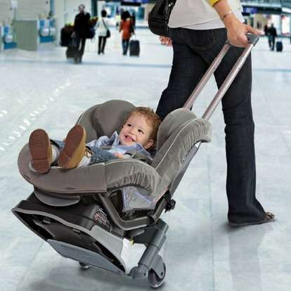 Car Seat Stroller Converters The Brica Rolln Go Makes